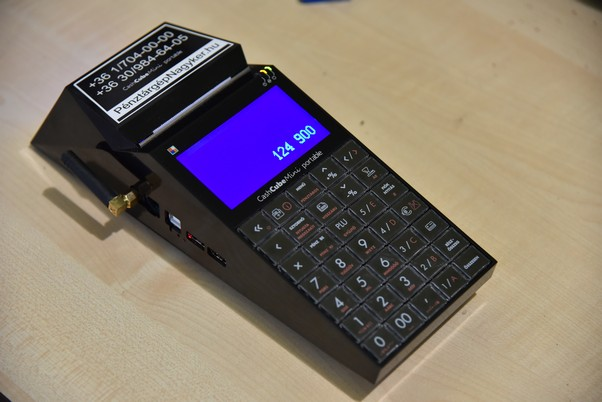 CashCube Mini pénztárgép